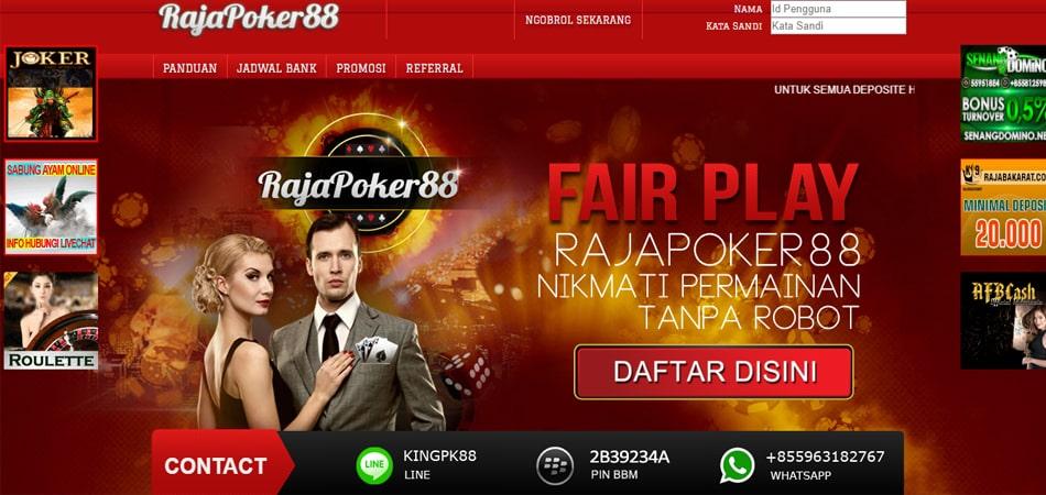 Daftar Situs Pkv Games Terpercaya Indonesia Rajapoker88